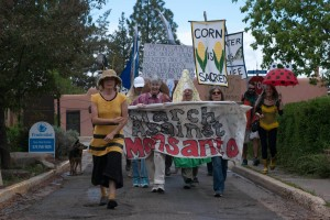 March Against Monsanto Spring 2014 Taos, NM