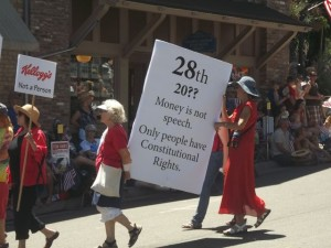 The 28th Amendment took its place alongside the other Amendments … at least in the Nevada County 4th of July Parade